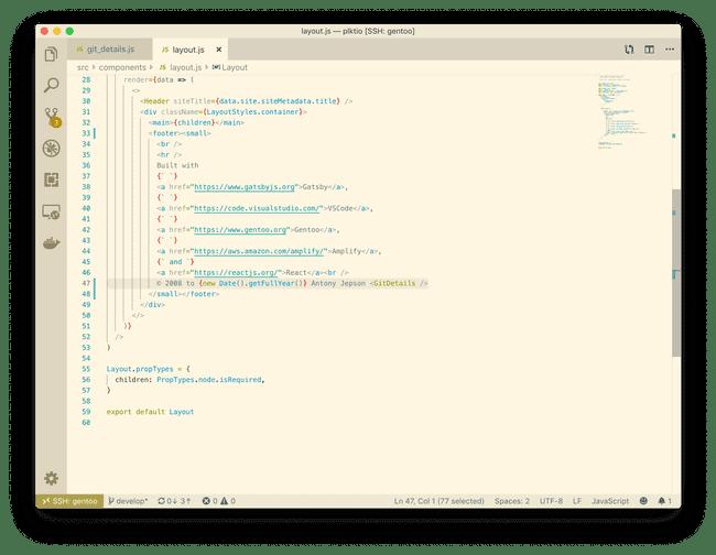 vscode modify layout