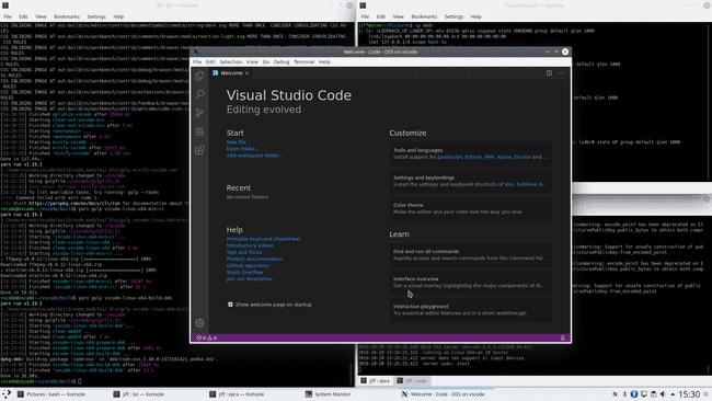 vscode installation success